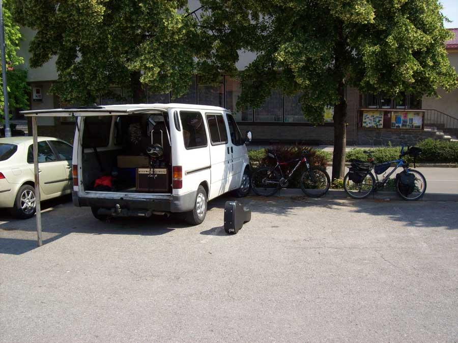 hudebně cyklistická vyjížďka