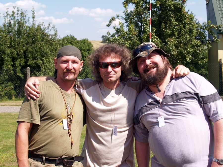 Rosťa, já a Pavel Fridrich