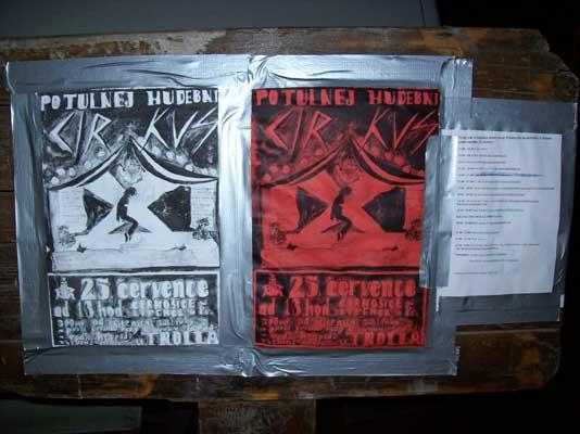 dva plakáty