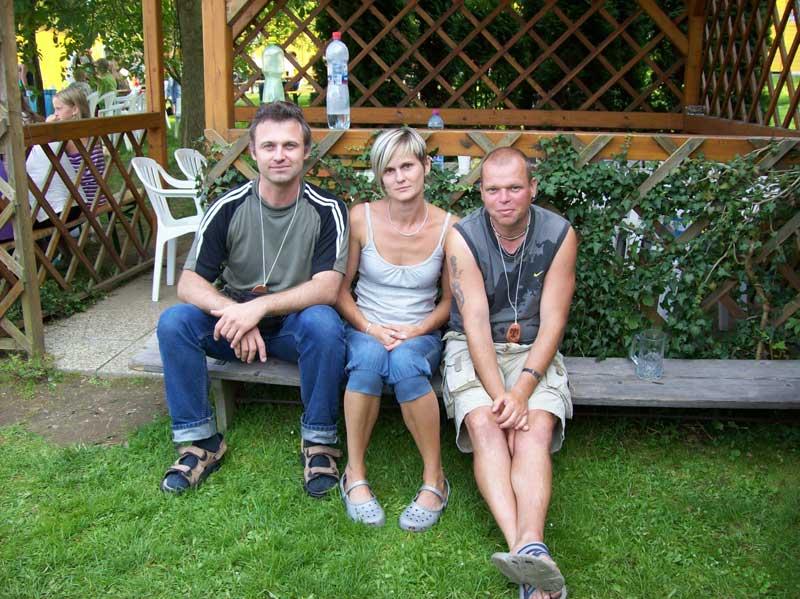 já, jedna z návštěvnic a Libor