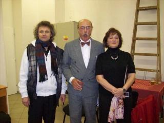 já, konferenciér Pavel Nový a Zuzana Mojžíšová